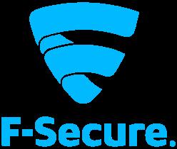 f secure logo blue